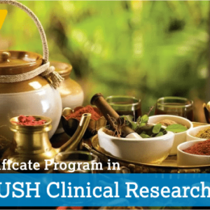 Certificate Program in AYUSH Clinical Research