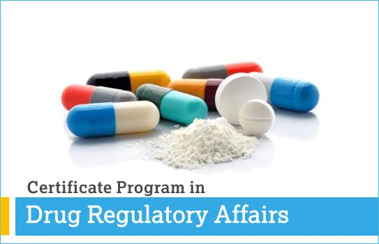 Certificate Program in Drug Regulatory Affairs
