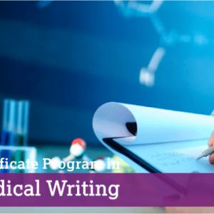 Certificate Program in Medical Writing