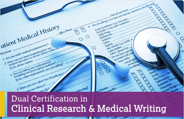 Dual Certification in Clinical Research & Medical Writing l